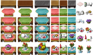 RPG Maker VX - Tables by Ayene-chan