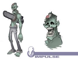 Zombie1 by Lysol-Jones