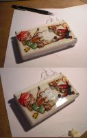 Customized Nintendo DS by myszowor