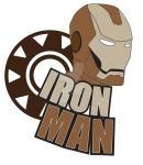 Iron Man Brown by esmeone