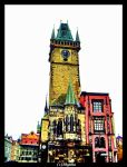 Tower in Prague h_colors by shytiha