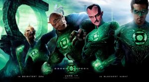 green lantern banner by thedemonknight