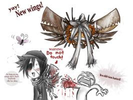RS: INKS NEW WINGS by ArtistsBlood