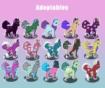 Dog Adoptables (open) by honigt