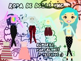 Ropa de Dolls Png by PerfectWomenSwag