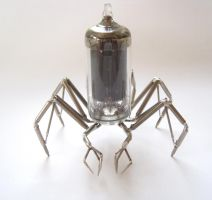 Vacuum Spider No 3 (II) by AMechanicalMind