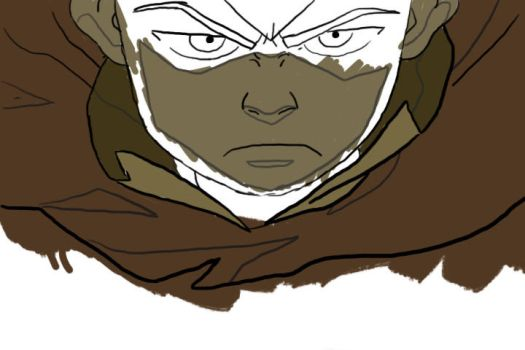 Aang WIP by I-wuv-Bolin