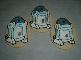 R2-D2 cookies by PlummyPress