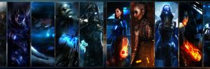 Mass Effect Dualscreen by chitzu51