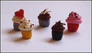 Little Cupcake Charms by Akane-Idane