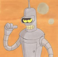 Bender the boss by silverben