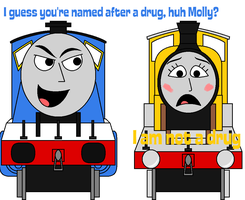 TTTE - Named after a drug... by Percyfan94