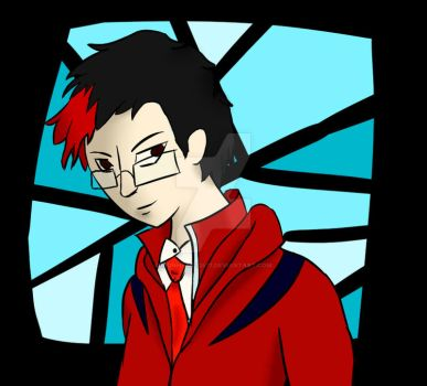 Me in Persona (HeadShot) by Lionheart2477