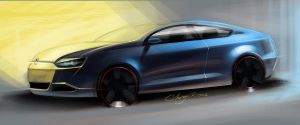 New Passat Hatchback by ChrysRoos