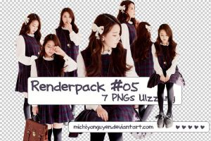[Renderpack] #05 - 7 PNGs Ulzzang by MichiyoNguyen