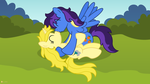 Swept Off Her Hooves by flashlighthouse