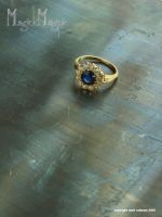 -Antique ring- by magickmagpie