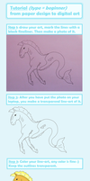 Tutorial - From Paper Design To Digital Art by ponyhallo1