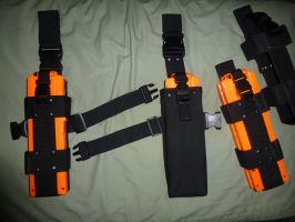 NERF Mag Pouch Clip Holders by MarcWF