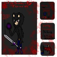 Insanity Town- Zac the Hedgehog by Doggshort2