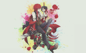 Grell Wallpaper By Dvg by Dvilgabrimhf