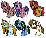 pony adopts by winged0wolf