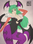 Morrigan Aensland by Abyss-Chaos