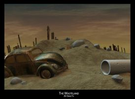 The Wasteland by yakuzatemplarlol