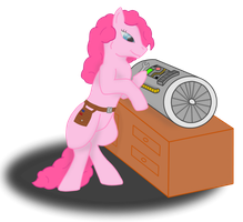 Aviator Pinkie Pie by Virenth