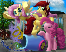 Andrea Libman at Galacon by DeathPwny