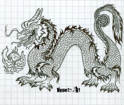 Chinese Dragon by Lord-Vegeta