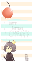 HBD CHERRY by milqo