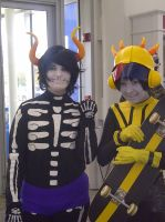 Neko-Con 2012: Kurloz Makara and Mituna Captor by LingeringSentiments