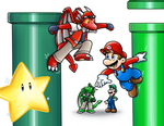 Commish: Race to the Star by Nintendrawer