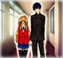 Ordinary Day With You - Taiga x Ryuu [coloured] by Koinou-Mitei