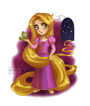 Tangled: Rapunzel by daekazu