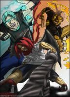 3 Man Army '09 colored by MONSTA-E