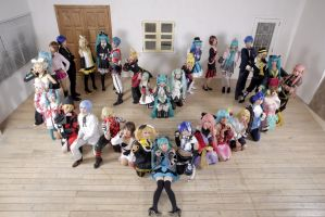 VOCALOID gatherings by Asumin13