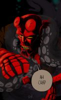 OZComics Weekly Challenge - Hellboy by PsychedelicMind