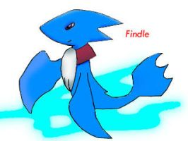 Findle the Dolphin pokemon by raseru09