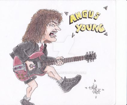 Angus Young by marz9393