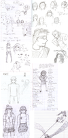 The Last Sketchdump from 2010 by Juunshi