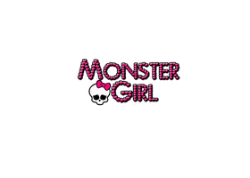 Monster Girl -LOGO- by Jecii