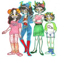 Homestuck in the 90's by Aymeysa