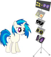 Vinyl Scratch, choose your destiny by UP1TER