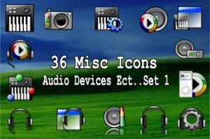 36 media device ect icons by zman3