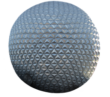Spaceship Earth Clear-Cut by WDWParksGal-Stock