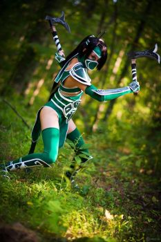 LoL: Akali 001 by chinasaur