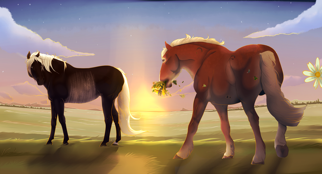 Flowers for the Lady | diRPG by EquestrianJade