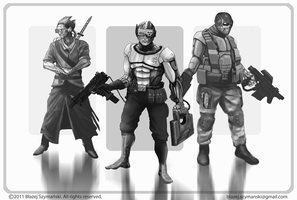 Cyber Characters by Buashei